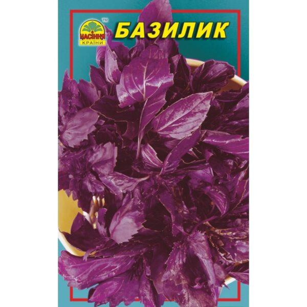 Насіння країни Базилик фиолетовый - 0